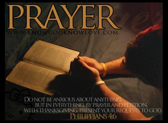 Copy of prayer