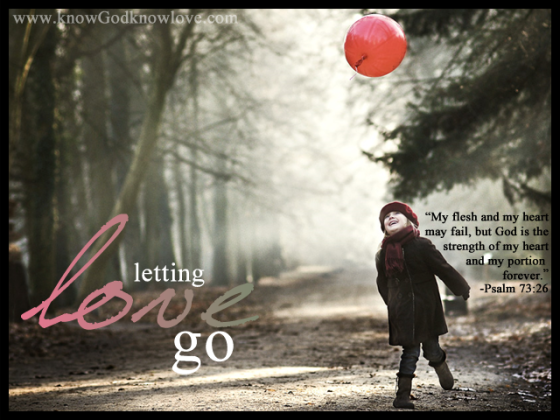letting love go